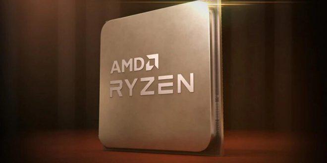 AMD Ryzen 5000 render